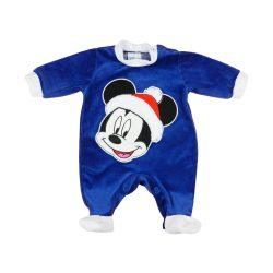 Disney Mickey Mikulás hosszú ujjú plüss rugdalózó
