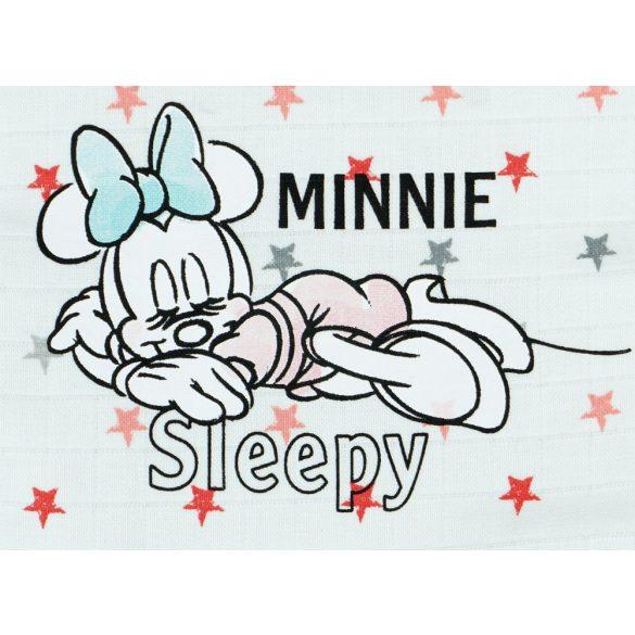 Disney Minnie tetra paplanos, vállon patentos háló