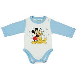 Disney Mickey és Plútó vállon patentos, hosszú ujj