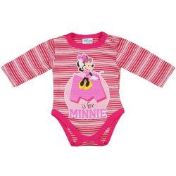 Disney Minnie csíkos hosszú ujjú kombidressz glitt