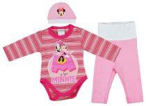 Disney Minnie 3 részes (sapka+nadrág+body) szett g