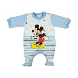 Disney Mickey hosszú ujjú, vállon patentos fiú rug