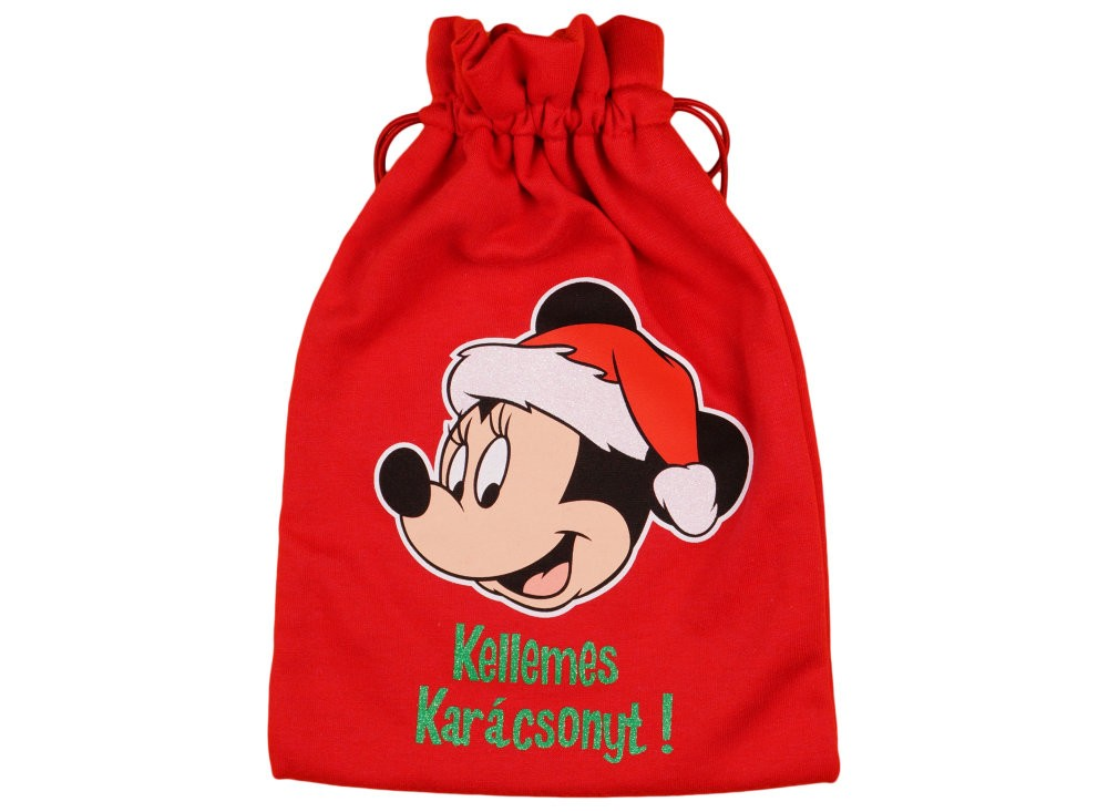 Disney Mickey Mikulás zsák-ajándék zsák e201a155de