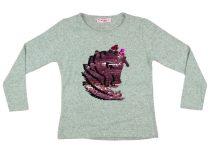Lányka pulóver átsimítós flitteres Unikornis (TUR)