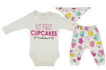 Bébi lányka 3 részes szett Cupcakes (TUR)