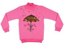 Lányka átsimítós flitteres pulóver Esernyő (TUR)