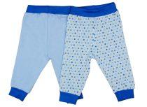 Fiú bébi nadrág 2db/szett (TUR)