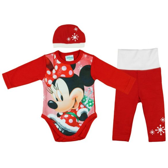 Disney Minnie 3 részes (sapka+nadrág+body) szett Karácsony cea7a105b7