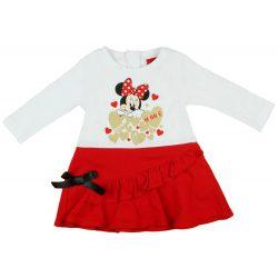 Disney Minnie hosszú ujjú lányka ruha 0def018f58