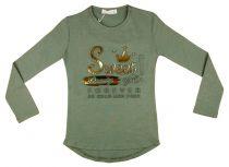 Lányka hosszú ujjú póló arany Sweet (TUR)