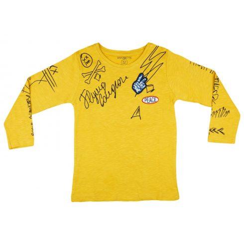 Fiú hosszú ujjú póló Peace (TUR)