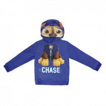 Paw Patrol-Mancs őrjárat mintás kapucnis pulóver