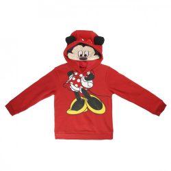 Disney Minnie kapucnis lányka pulóver fülekkel