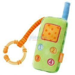 Baby Fehn csörgő telefon