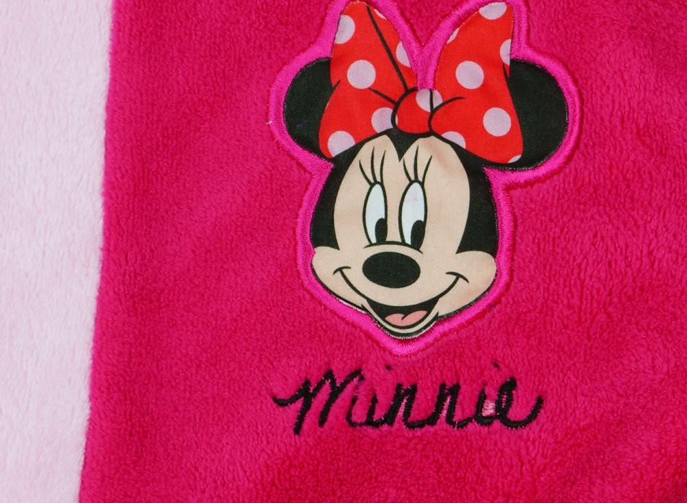 Disney Minnie wellsoft kapucnis köntös - Babaruha  d0a7e6eb54