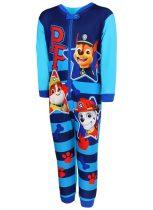 Paw Patrol-Mancs őrjárat mintás fiú overálos pizsama