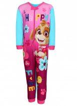 Paw Patrol-Mancs őrjárat mintás lányka overálos pizsama