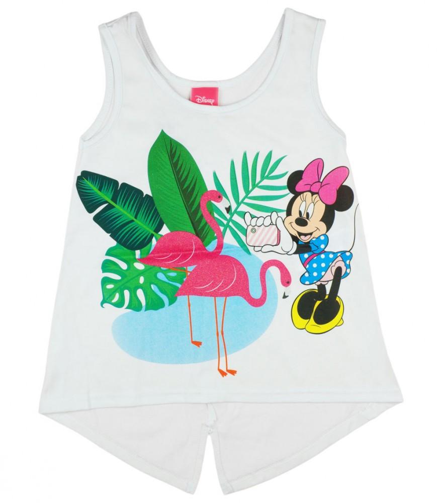 e2974d1d3b Disney Minnie flamingós, csillámos kislány nyári top .