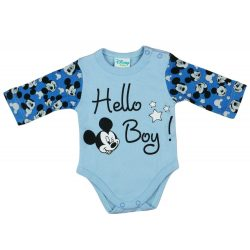 Disney Mickey mintás fiú hosszú ujjú kombidressz Hello Boy!