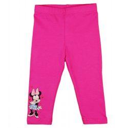 gyerek nadrág sötét rózsaszín színű 74-es méretű Minnie mintával
