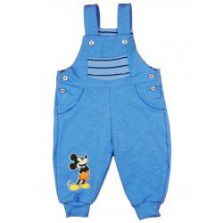 Disney Mickey vékony pamut fiú kertésznadrág