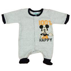 "Disney Mickey ""100% happy"" baba rugdalózó"