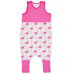 Flamingó mintás lány hálózsák 68-86-os méretű