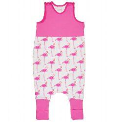 Flamingó mintás lányka tipegő hálózsák 2,5 TOG