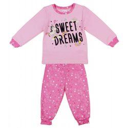 Unikornis mintás kislány pizsama