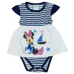 Disney Minnie tengerész stílusú baba body rávarrt szoknyrésszel