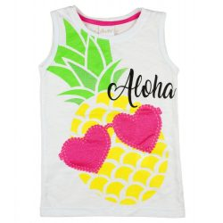 Lányka trikó ananász mintával