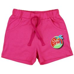 pink kislány pamut rövidnadrág 98-as