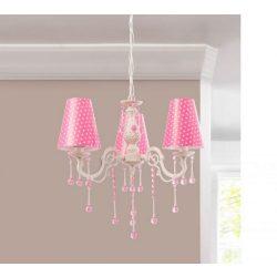 Cilek DOTTY mennyezeti lámpa (rózsaszín)