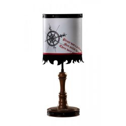 Cilek BLACK PIRATE asztali lámpa