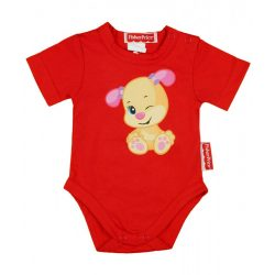 Fisher-Price rövid ujjú, vékony pamut nyári baba body