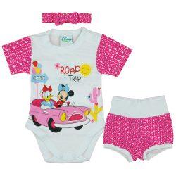 Disney Minnie 3 részes baba nyári szett