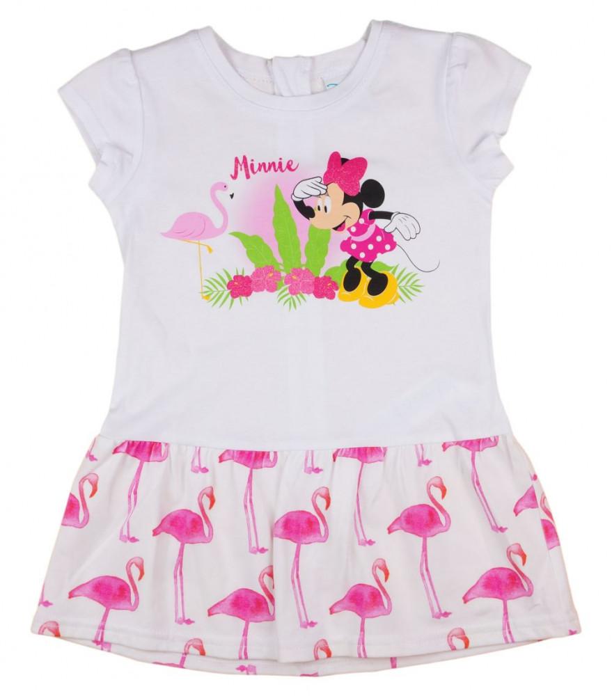 ce42dfbb6b Disney Minnie flamingós nyári kislány ruha .