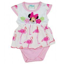 Disney Minnie flamingós rövid ujjú baba body