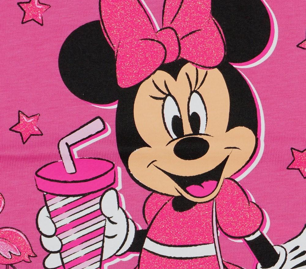 bcbfa37ed9 Disney Minnie csillámos rövid ujjú kislány póló .