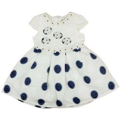 Alkalmi kislány kék-fehér ruha (TUR)