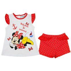 Disney Minnie 2 részes rövidnadrágos nyári szett