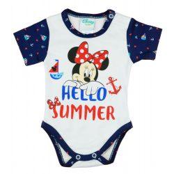 Disney Minnie Hello summer rövid ujjú body