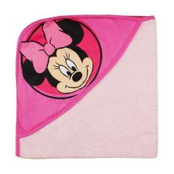 Disney Minnie kapucnis frottír törölköző (75X75)