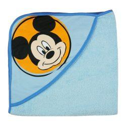 Disney Mickey kapucnis frottír törölköző (75x75)