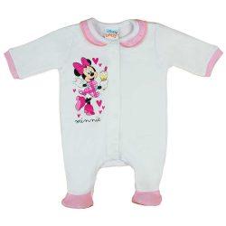 Disney Minnie fagyis pamut baba rugdalózó fodros gallérral