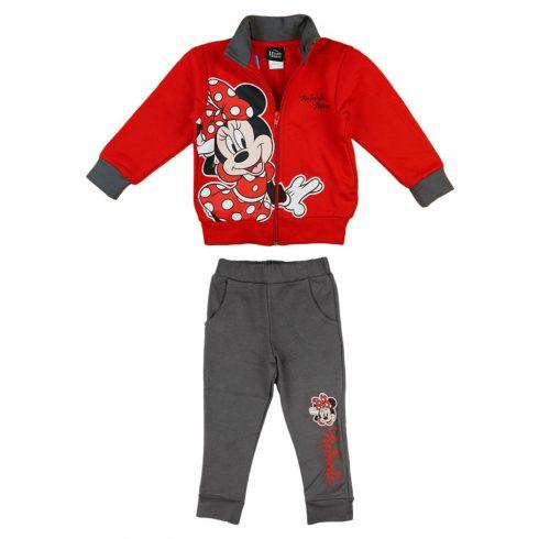 Disney Minnie 2 részes, belül bolyhos szabadidő szett