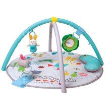 Taf Toys játszószőnyeg játékhíddal és párnával - Garden Tummy Time Gym