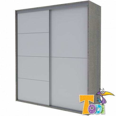 Todi Cube gardrób gyerek szekrény - 200x208 cm