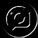 Gabeliz Minifogas, barack színű pillangó mintával