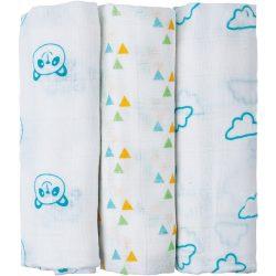 Bubaba textil pelenka - 3 db